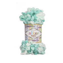 Пряжа Alize Puffy color цвет 5920