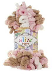 Пряжа Alize Puffy color цвет 6046