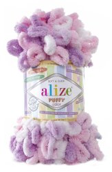 Пряжа Alize Puffy color цвет 6051