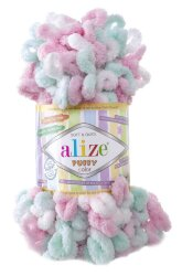 Пряжа Alize Puffy color цвет 6052