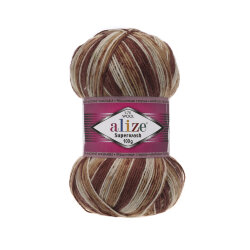 Пряжа Alize Superwash 100 цвет 5529