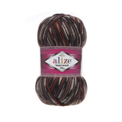 Пряжа Alize Superwash 100 цвет 6766